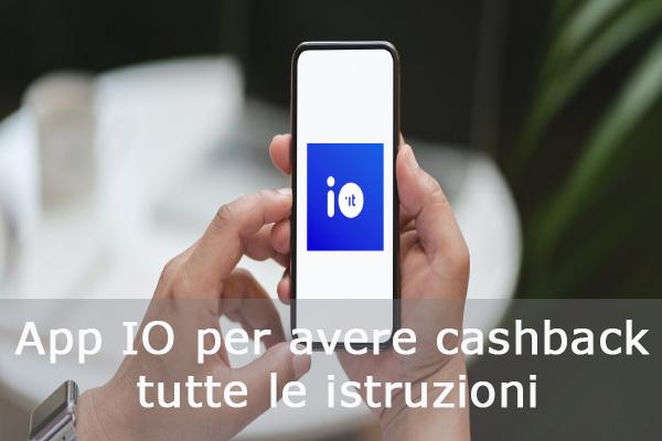 app io per avere cashback istruzioni